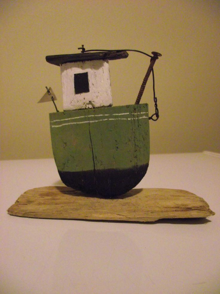 Driftwood boat 2