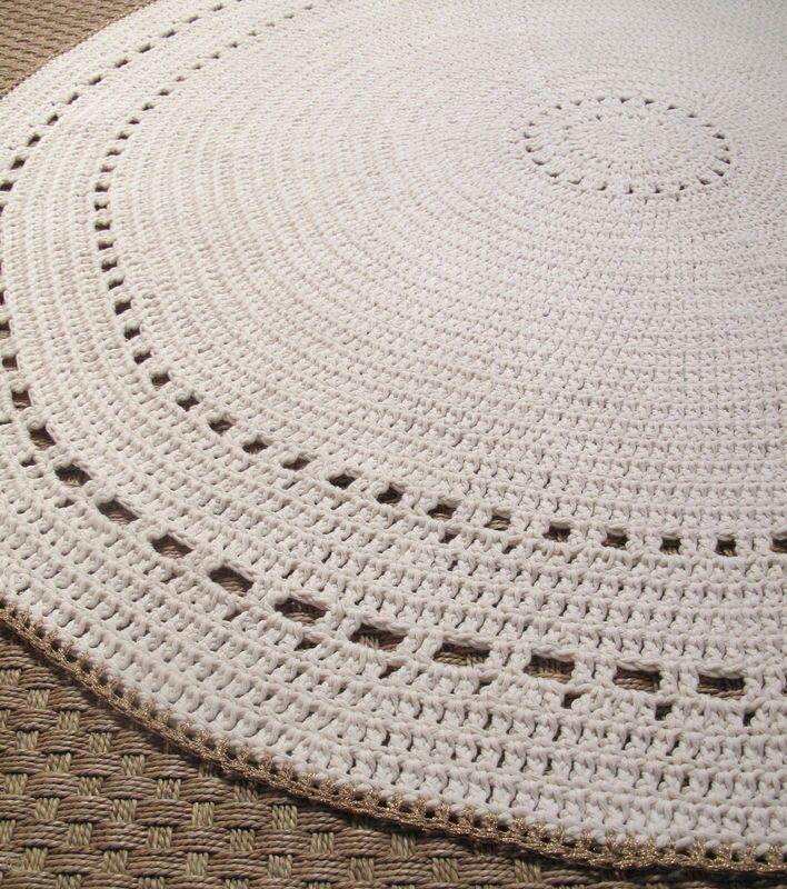 best 20 tapis crochet ideas on pinterest rag rug diy. Black Bedroom Furniture Sets. Home Design Ideas