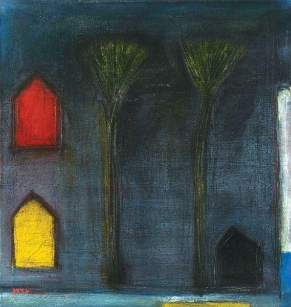 Artist Aharon Messeg