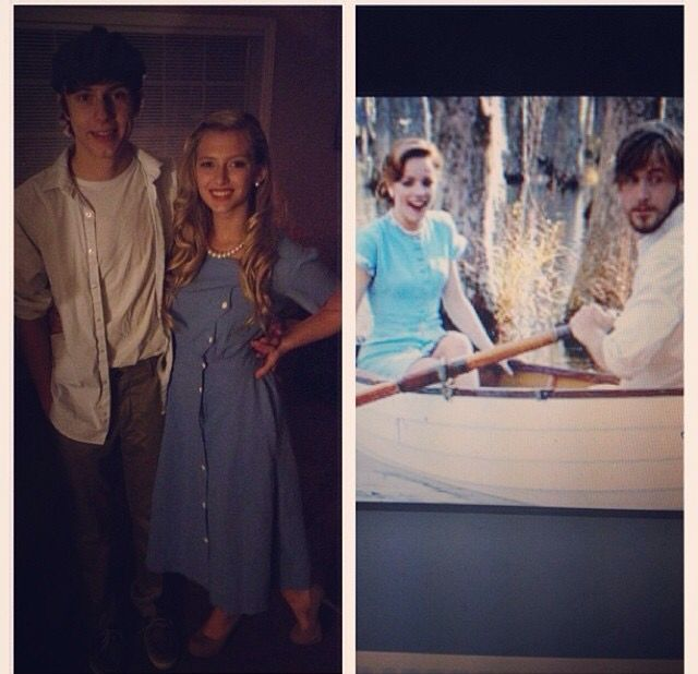 Ally and Noah from the Notebook #halloween #couplecostumes #thenotebook #allyandnoah #characters #couples #moviecostumes