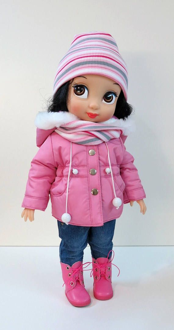 3 pcs. Disney Animators doll clothes.