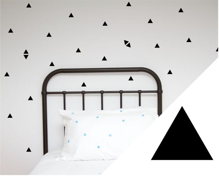 Wall Decals | Small Triangles | Collected by LeeAnn Yare