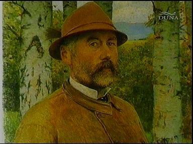 Szinyei Merse Pál: Önarckép (festmény) (részlet)