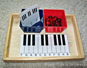 music games  |  Keyboard identification with printable