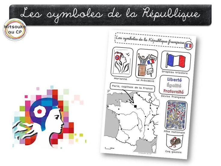 Education civique : la République française et ses symboles, ainsi que des pistes de lecture pour le cycle 2.