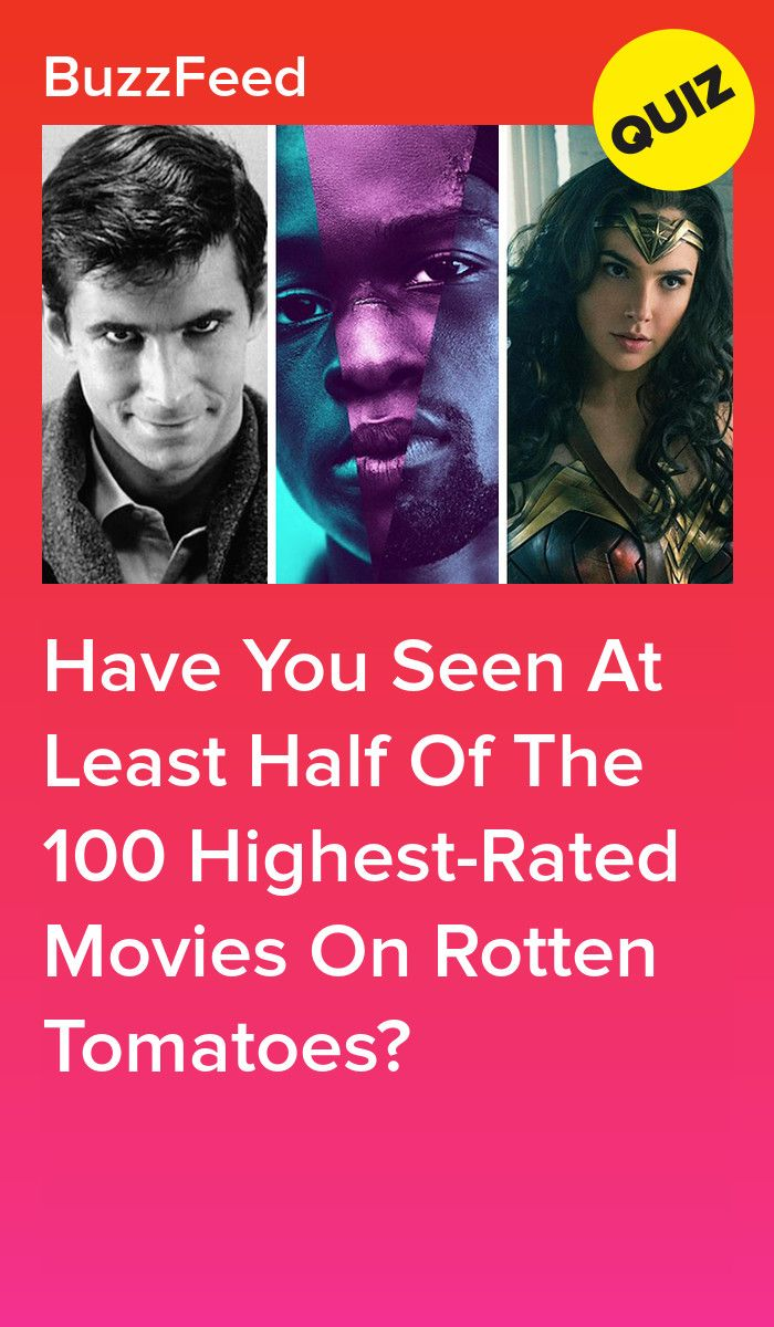 How Many Of Rotten Tomatoes 100 Best Movies Of All Time Have You