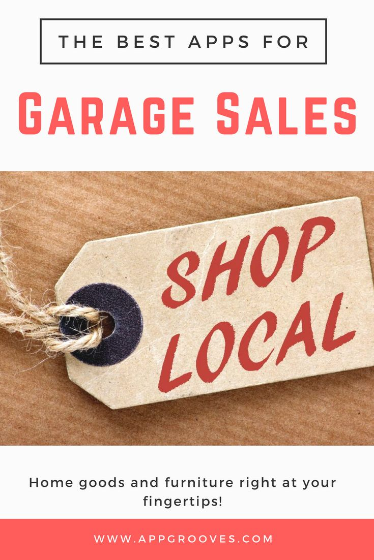 Best Local Sales Garage Sale Apps For Home Furniture