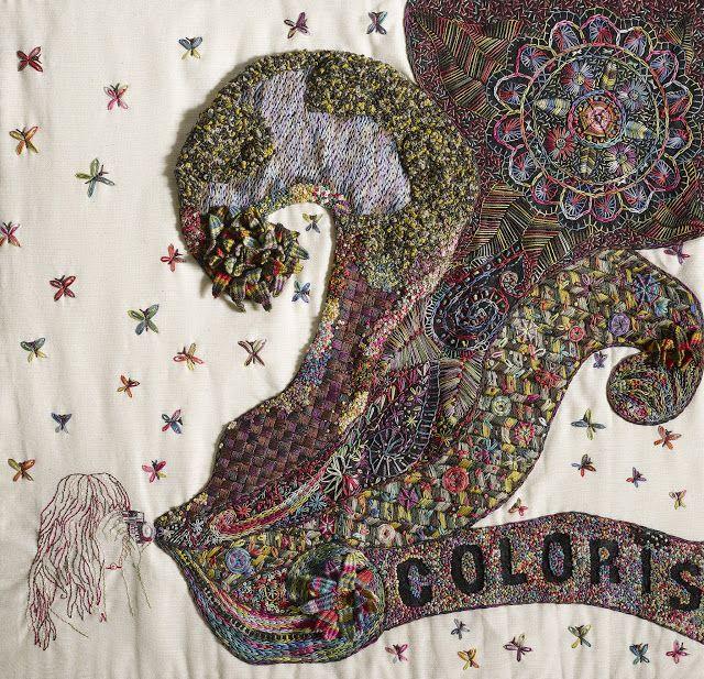 """El blog de Dmc: Resultado Concurso """"Nuevo bordado creativo con Coloris"""""""