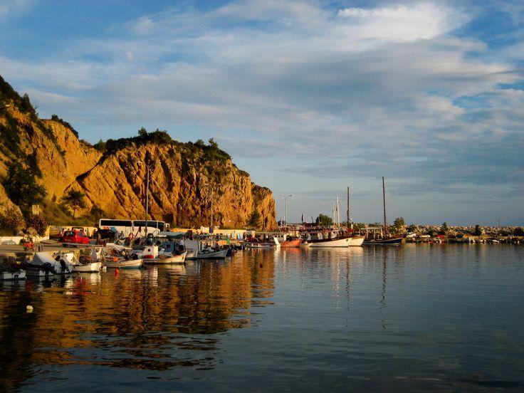 Thasos Port - Greece by Ειρήνη Μαυρή on 500px