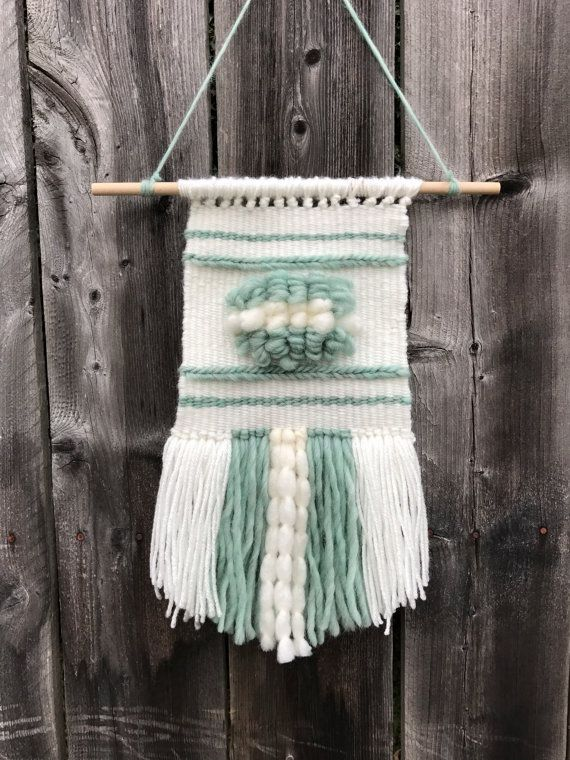 Woven Wall Hanging / Woven Wall Tapestry / Weave Wall Hanging / Bohemian Wall Hanging / Boho Wall Hanging / Modern Tapestry / Yarn Art