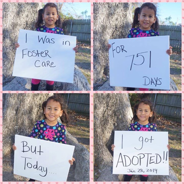 Adoption: Meet Gina- The New, Adorable Face Of Foster Care Adoption