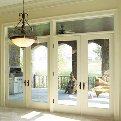 Best 25 double french doors ideas on pinterest for Double entry patio doors