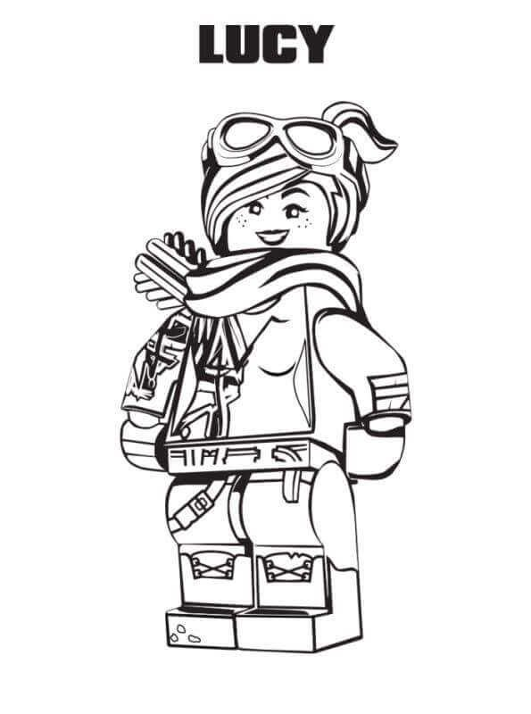 Coloring Pages For Lego Movie