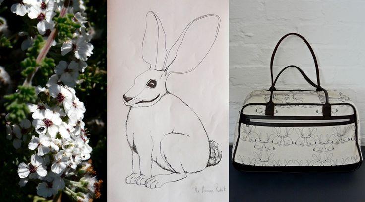 veldt.co.za - amazingly inspirational hand drawing to textile design.
