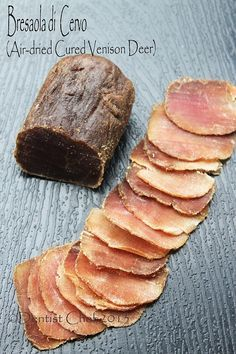 Homemade Venison Bresaola, Italian Air Dried Cured Deer Meat Recipe (Bresaola di Cervo)