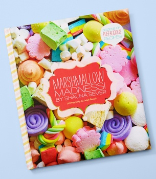 Bright colors! Pretty! And all about marshmallows.
