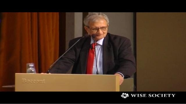 #Amartya #Sen discusses about a new concept of value, concentrating on the sustainability of an entire country. He tries to go beyond #GDP as these kind of indicators are not good anymore to judge a country's healthy #economics - #wisesociety