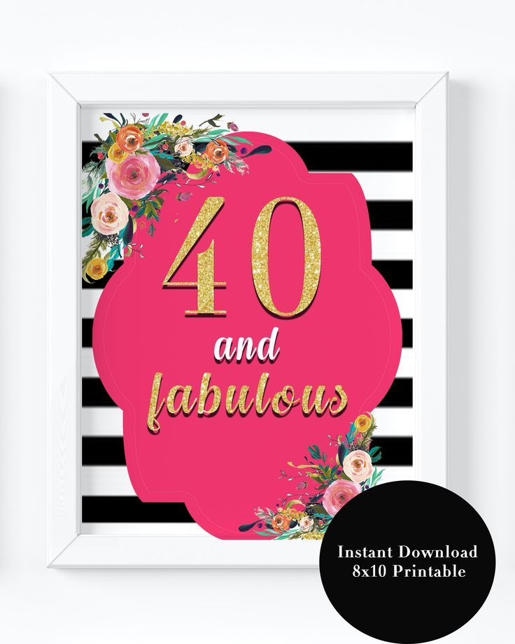 It's just a photo of Obsessed Printable 40th Birthday Cards