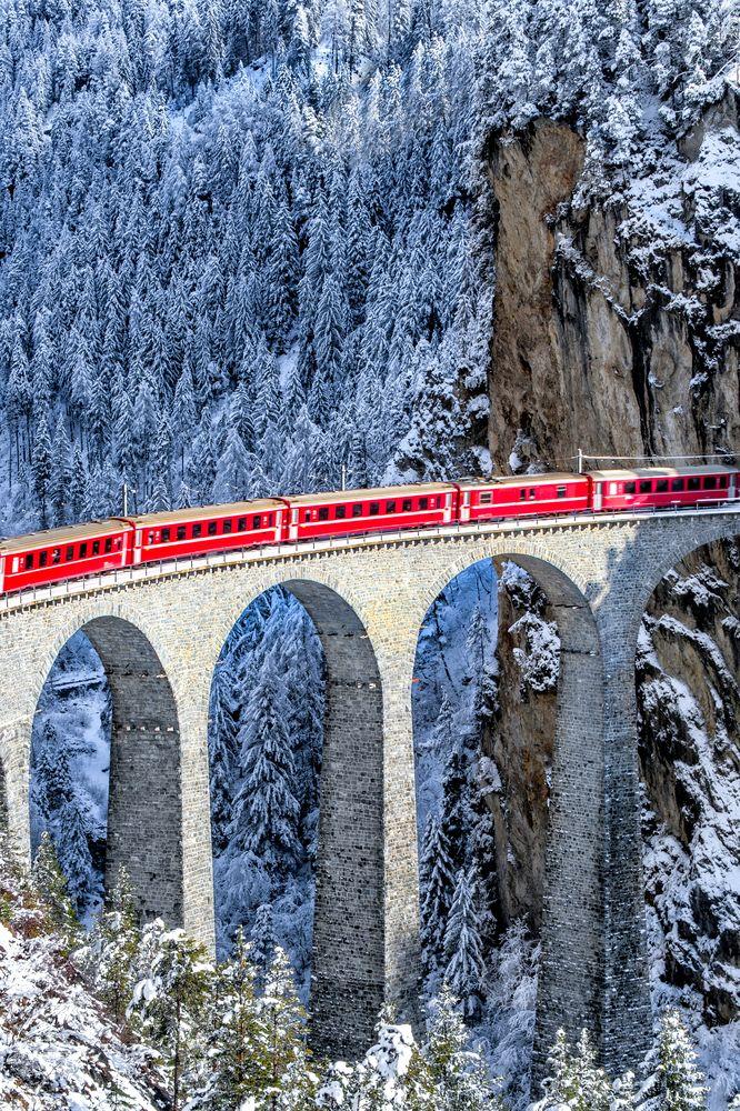Glacier Express, Szwitzerland