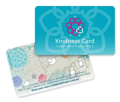 Check out this brilliant idea for giving gifts to complete strangers!  Step 1: Anonymously undertake a random act of kindness - i.e pay for someone's coffee, leave flowers on a doorstep etc.  Step 2: Leave the card. The kindness card tells the person about your kind act & asks them to repeat the game with someone else.  #random #acts #of #kindness
