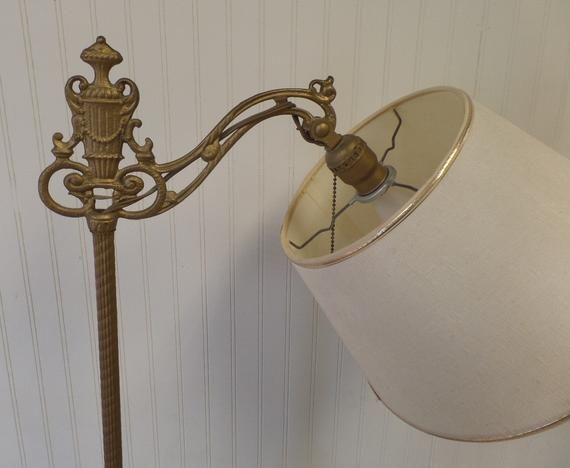 Floor Lamp Rewiring Kit With One Socket Etsy In 2020 Art Deco Floor Lamp Antique Floor Lamps Vintage Floor Lamp