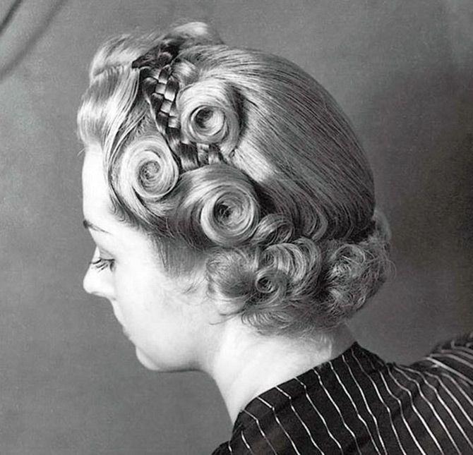 Прически и мода 1940-х годов