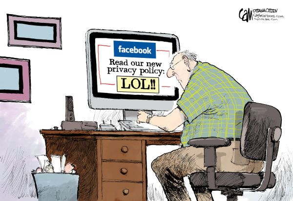 Facebook privacy restrictions