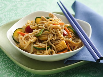 So Lo Mein with Chicken