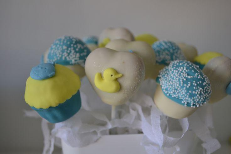Cakepops para Gabriel, aunque no pudiera comérselos!!!