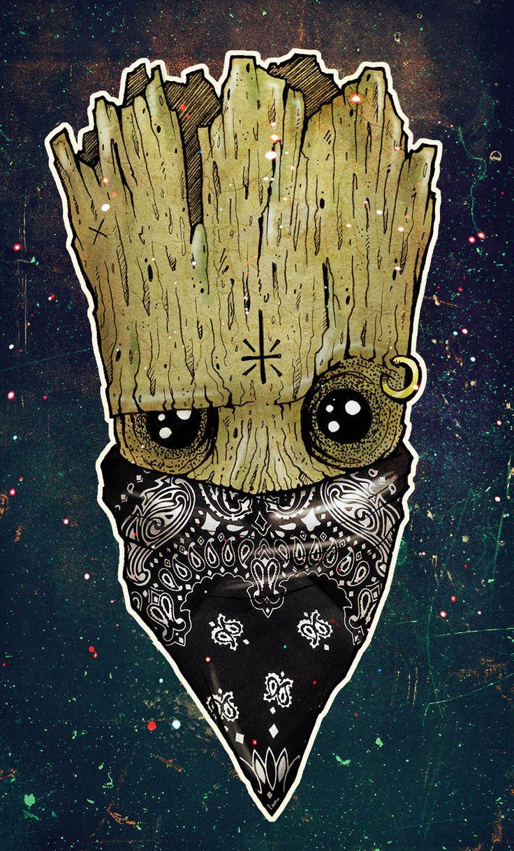 The XGAIAX Inspiration Wall : Groot