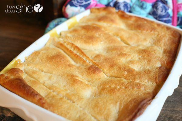 Easy Peasy Chicken Pot Pie Casserole