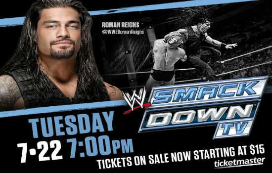 Contest: Win a Family 4-Pack of Tickets to WWE Smackdown at Amway Center on July 22, 2014 #WWEOrlando | CitySurfing Orlando