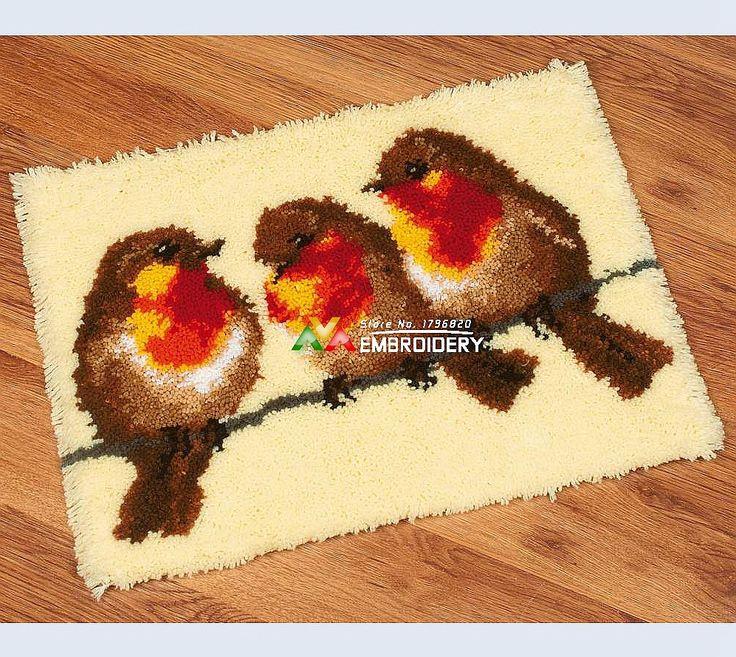 144 Best Latch Hook Rug Kits Images On Pinterest