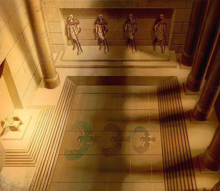 ArtStation - Sky Pharaon's Throne, Mummy's mask (Pathfinder Card Games). Paizo Publishing, Francesco Di Pastena