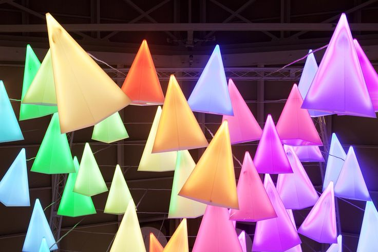 Nulty - County Mall, Crawley - Feature Light Art Installation Showpiece Lighting Design