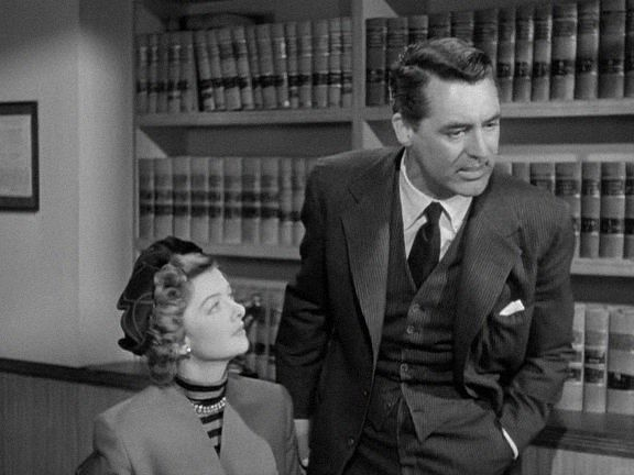 Myrna Loy, Cary Grant, Mr. Blandings Builds His Dream House (1948).  H.C. Potter