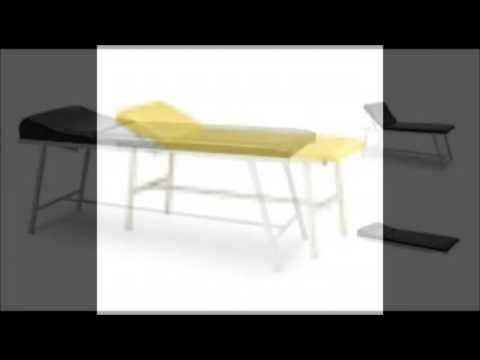 Katlanır Ayaklı Muayene Masası