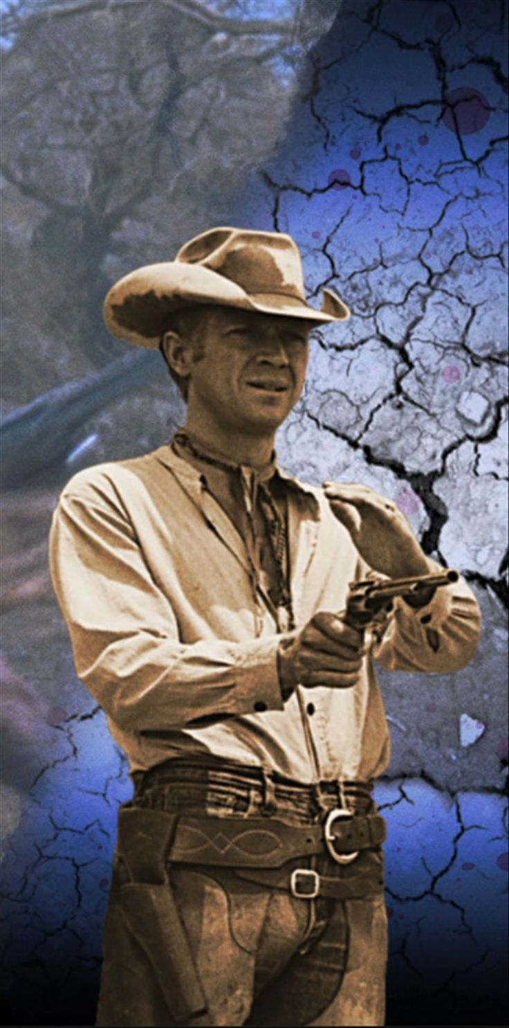 Steve McQueen (Beech Grove, Indiana, Estados Unidos, 24 de marzo de 1930 - Ciudad Juárez, Chihuahua, México 7 de noviembre de 1980) fue un actor estadounidense apodado The king of cool. Es conocido por películas como El Yang-tsé en llamas (1966), Bullitt (1968), Papillon (1973) o El coloso en llamas (1974).
