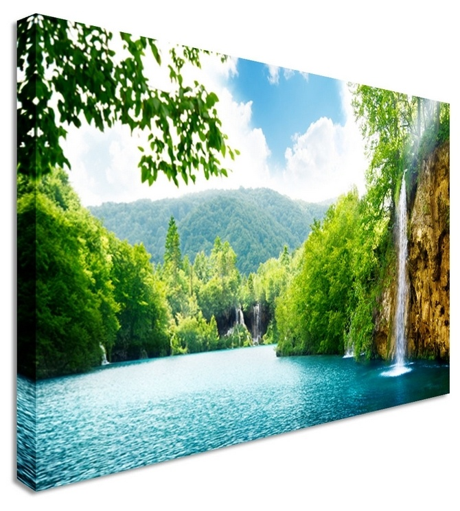 Croatia splash by landscape art canvas prints canvas art cheap prints by www canvastown