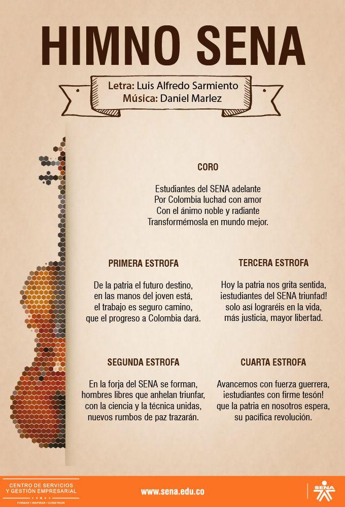 Centro de Servicios y Gestión Empresarial - SENA Regional Antioquia: Himno Sena
