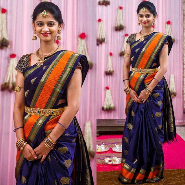 Parnicaa Reddy Dharmavaram Saree - Saree Blouse Patterns