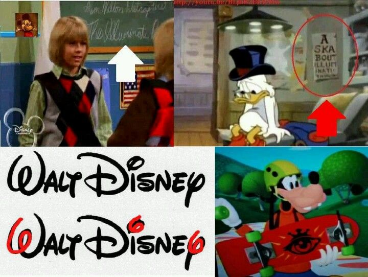 More Disney Illuminati subliminal messages. And this is a children network? Please keep your children away from this!