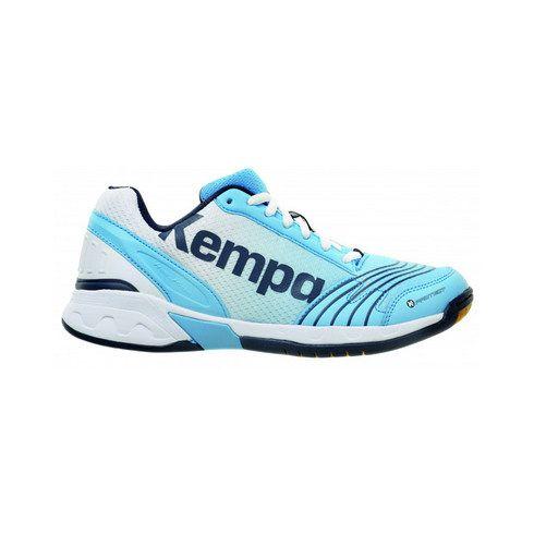 Chaussures Hand Kempa Attack Three Femme Bleu Ciel/Blanc/Marine