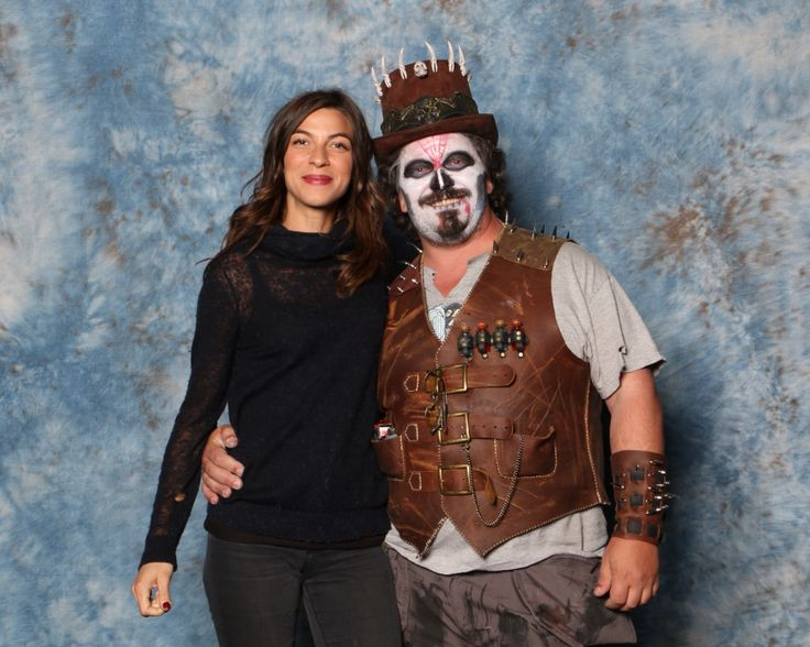 Me and Natalia Tena from Game of Thrones at the Edmonton Comic Expo