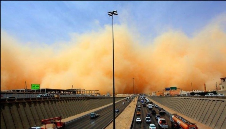 Amazing sandstorm