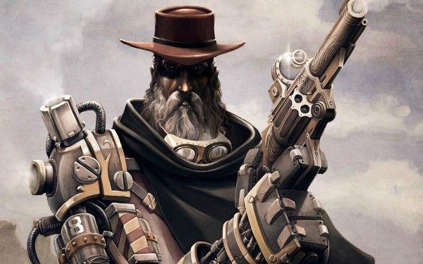 Cowboy Guns Wallpaper cowboy | Steampunk | P...