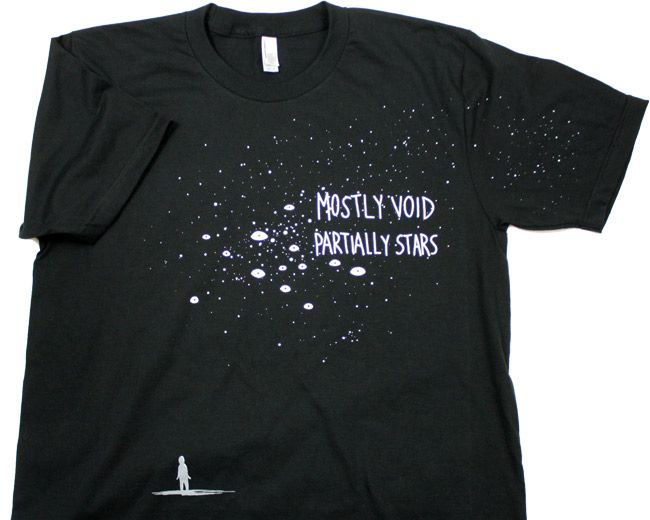 Mostly Void Partially Stars Shirt - Welcome to Night Vale - Women's L - $20 ++ shipping
