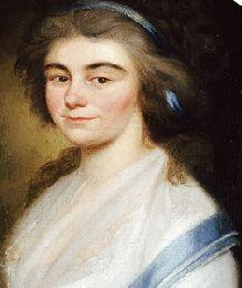 Elisabetha Chrisophina Friederika Schiller (1757-1847) zuster van Schiller, gehuwd met Wilhelm Friedrch Hermann Reinwald