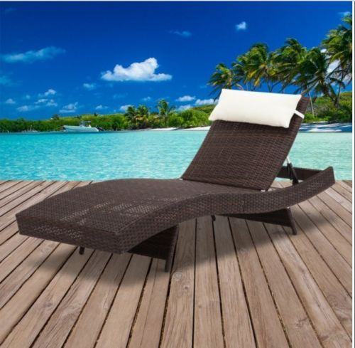 Wicker-Outdoor-Sun-Lounge-Adjustable-Chair-4-positions-UV-Resistant