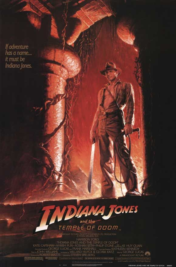Indiana Jones and the Temple of Doom (1984) Movies every kid could see